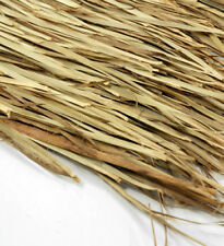 "48""x 7' Mexican Palm Thatch Roll Grass Palm Leaf Thatching"
