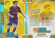 N°389 LIONEL MESSI # ARGENTINA FC.BARCELONA MEGACRACKS CARD PANINI LIGA 2011