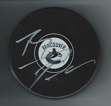 Brandon Prust Signed Vancouver Canucks Puck