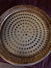"""Pizza Baking Pan Perforated Aluminum Round (13inch) For 12"""" Pie  Free Shipping"""