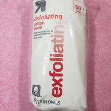 2pk Up & Up Exfoliating Cotton Ovals 50 Count