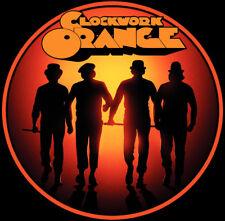 70's Stanley Kubrick Classic A Clockwork Orange Silhouette Poster Art custom tee