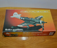 HELLER HUMBROL BELL P-39Q AIRACOBRA MILITARY PLANE MODEL KIT WW2 COMPLETE UNUSED