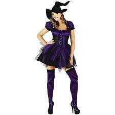 Womens Fancy Dress Costumes Witch, Vampire Pirate Goth Sizes S M L XL XXL Lot