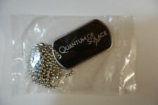James Bond 007 Rare Quantum of Solace Dog Tag Necklace Promotional NEW