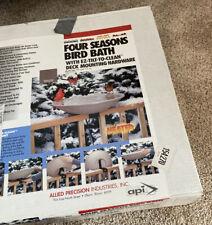 """Api Model 650 Heated 20"""" Inch Bird Bath With Lock N Dry"""