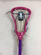 Women's Maverik Lacrosse 32� Twist Complete Head Shaft Pink Purple Nwt Strung