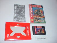 RISK strategy game complete in BOX w/ Manual for SEGA GENESIS