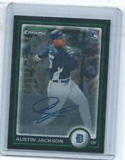 2010 Bowman Chrome** Austin Jackson Rookie autograph-Tigers
