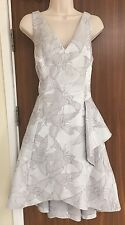 COAST Reese Jacquard Dress Size UK 14