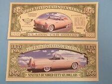 1956 Ford THUNDERBIRD Classic Dream Car <*> Cool $1,000,000 One Million Dollars