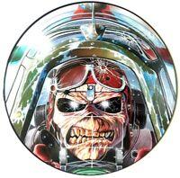 """NM/NM Iron Maiden Aces High 12"""" Vinyl Picture Disc 12 EMI P 5502"""
