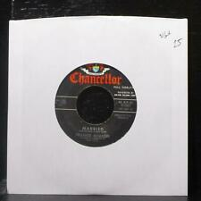 "Frankie Avalon - Married / True, True Love 7"" VG+ Vinyl 45 Chancellor C1087 USA"