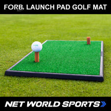Para losB plataforma de lanzamiento prácticas de golf Mat (60cm X 30cm Portátil Fairway golpeando Mat)