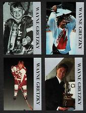 1992 Krown Promo Set Wayne Gretzky (4) - Silver