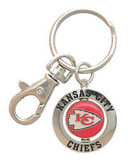 Kansas City Chiefs NFL Spinner Key Chain