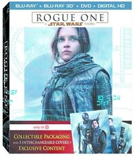 Rogue One: A Star Wars Story 3D 3D (used) Blu-ray ** No Cover Art, No case