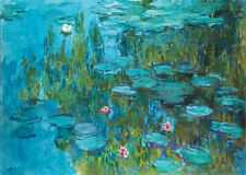 Incorniciato stampa-MONET WATER LILIES (PICTURE POSTER Pittura Arte Van Gogh DALI)