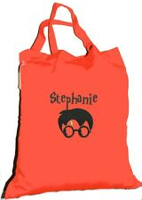 Double Handled Shopping / library Bag - Personalised - Harry Potter