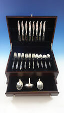 Rose Ballet by International Sterling Silver Flatware Service 8 Set 35 Pieces