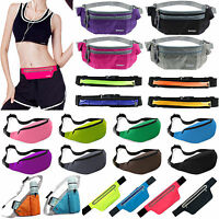 Unisex Bum Bag Waist Belt Pouch Sport Running Jogging Mobile Money Pack Outdoor