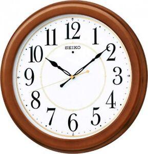 SEIKO CLOCK KX388B Wood Frame Standard Analog Wall Clock Japan with Tracking