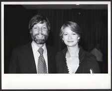 RICHARD CHAMBERLAIN & DORIE SOUTH candid VINTAGE ORIG GLOBE PHOTO bearded actor
