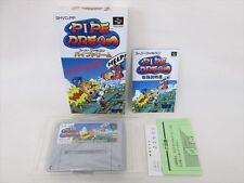 Super Famicom PIPE DREAM Mint Condition Japanese Nintendo aca sf