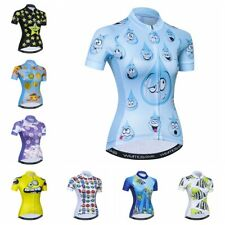 Summer Cycling Jersey Women Bike Clothing Sport Wear Short Sleeve Bicycle Tops