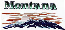 MONTANA RV Graphic Lettering decal END CAP VERSION 2003
