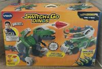 VTech Switch And Go Dinos Jagger The T-Rex Dino Mode and Truck Mode NEVER USED