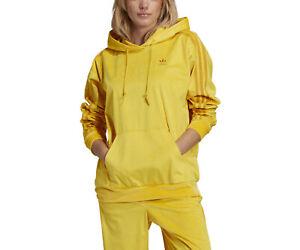 adidas Originals Women's Comfy Cords Velvet Corduroy Hoodie Pants Joggers Co ord