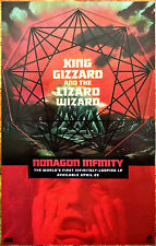 KING GIZZARD & THE LIZARD WIZARD Nonagon Infinity 2016 Ltd Ed New RARE Poster!
