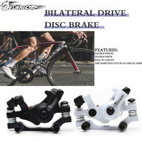 Bike Brake Mechanical Disc Brake Aluminum Bicycle MTB Road Bike Caliper UK