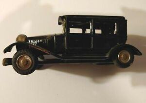LineMar/Marx Toys Rolls Royce, 1950's Era, Black Untouchables Friction Vehicle
