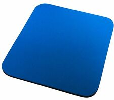 5.5mm Fabric Mouse Mat Pad BLUE  For All Mice Types **NEW**