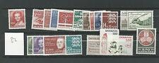 1982 MNH Denmark year complete according to Michel system