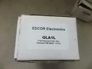 New Edcor GLA1L Line Amplifier For Music On Hold Applications 18V DC Volume