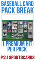 Gold Rush 2020 PREMIER Baseball Card Pack Break1 Random ⚾️TEAM⚾️Break MLB 4237