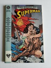 Death of Superman TPB DC Comics 1993 1st Print