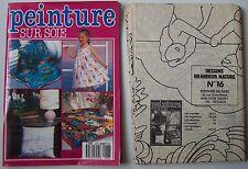 #) livre Peinture sur soie N° 36  +  3 planches dessins grandeur nature - 1987