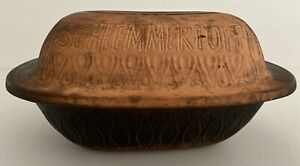 Clay Oven Roaster Schlemmertopf 832 Scheurich West Germany Lidded Tray Dish GUC
