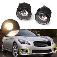 Set For NISSAN INFINITI EX35 G37 QX50 M37 Front Bumper Fog Light Driving Lamp 2X