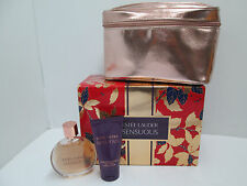 """ ESTEE LAUDER - SENSUOUS  "" CONFEZIONE PROFUMO DONNA EDP 50ml+BODY LOTION+CASE"