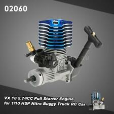 02060 VX 18 2.74CC Pull Starter Engine for 1/10 HSP Nitro Buggy Truck RC Y5G6
