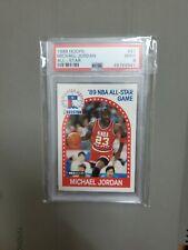 Michael Jordan 1989 Hoops All-Star #21 Mint 9 PSA Chicago Bulls NBA