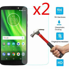 For Motorola Moto G6 Play 2Pcs 9H HD Tempered Glass Screen Protector Cover Film
