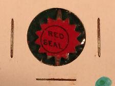 Vintage Red Seal Tobacco Tag