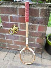 Vintage Wooden Flexshaft Squash Racket