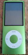 Apple iPod nano 4th Generation Green (8 GB) Great Condition.